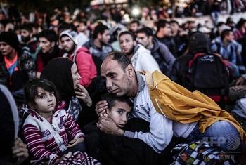 トルコに逃れたシリア難民