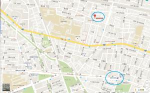 高雄ボウリングセンター地図