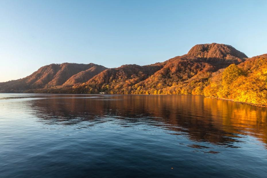 2015.10.23十和田湖の朝景5