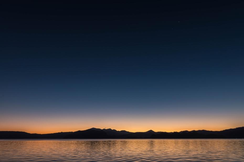 2015.10.23十和田湖の朝景2