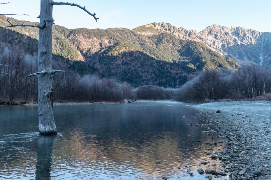 2015.11.12上高地の大正池と周辺11