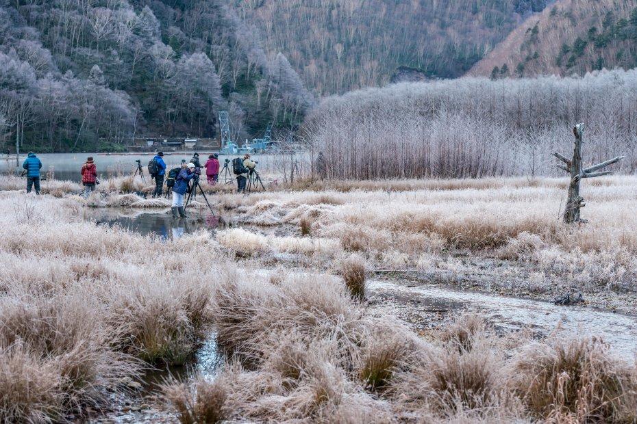 2015.11.12上高地の大正池と周辺5