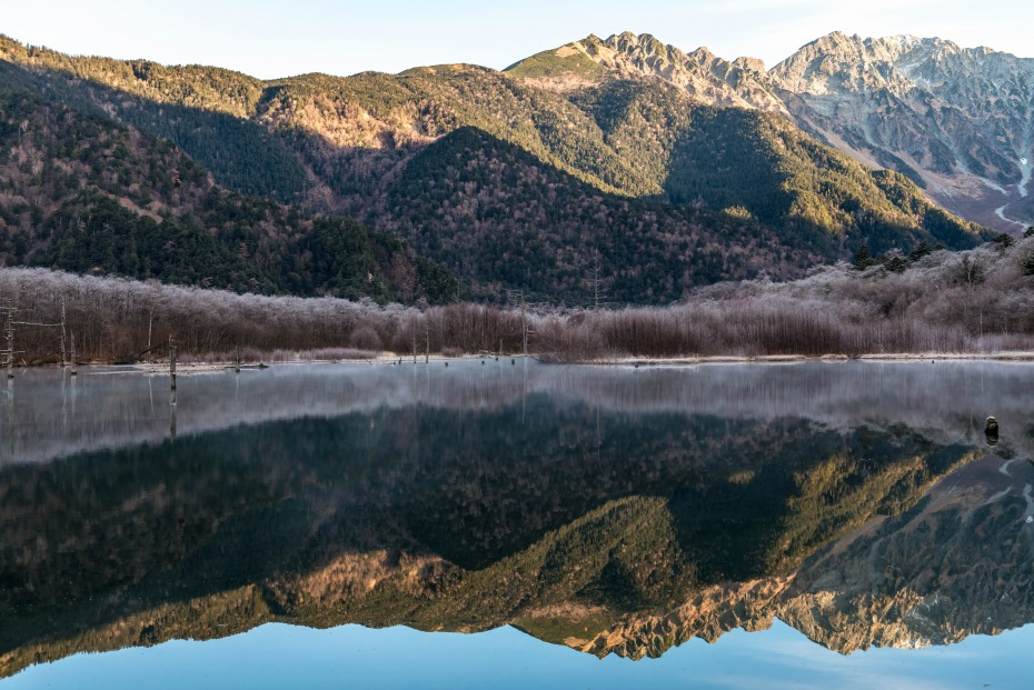 2015.11.12上高地の大正池と周辺2