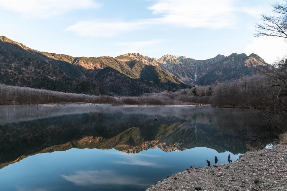 2015.11.12上高地の大正池と周辺1