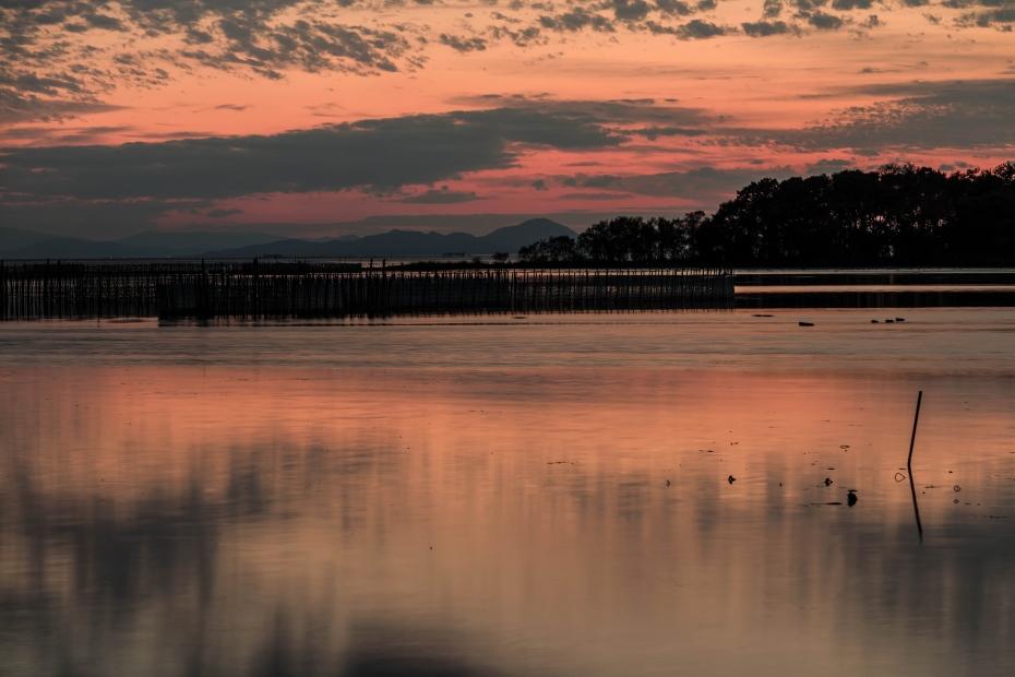 2015.11.16琵琶湖の夕景5