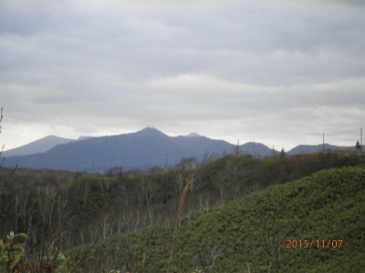 縮小2紋別岳遠景