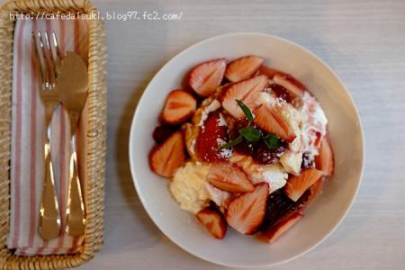 cafe Songbird◇いちご&苺のフレンチトースト