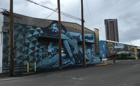 カカアコの壁アート