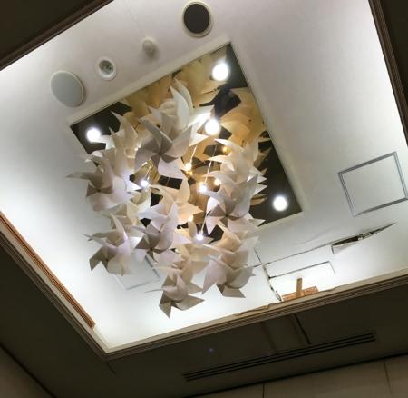 天井がすごい