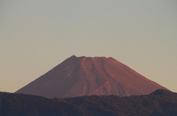 10月8日 5-54 今朝の富士山