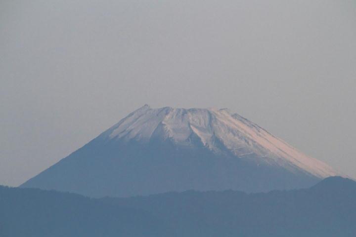 10月12日 5-41 今朝の富士山