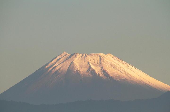 10月12日 6-41 今朝の富士山