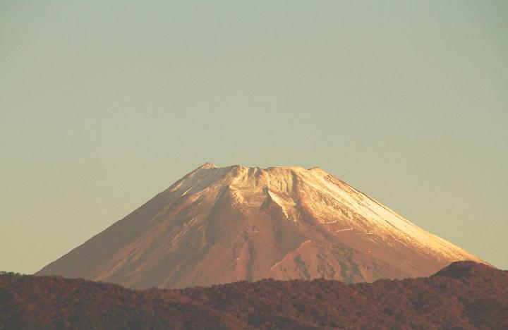 10月13日 6-09 今朝の富士山