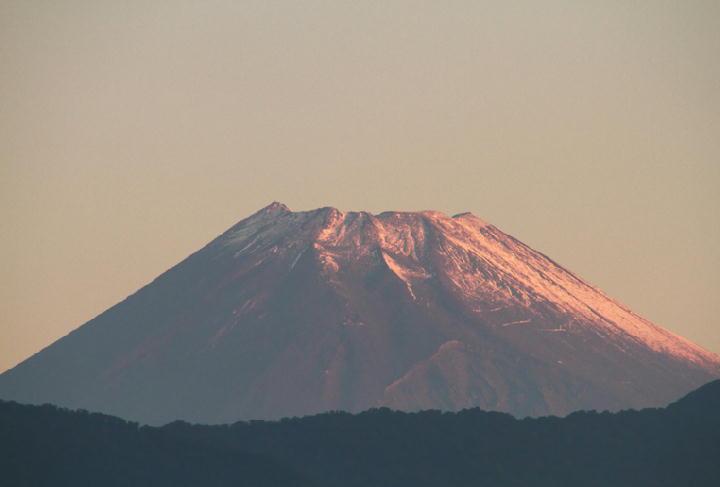 10月14日 5-59 今朝の富士山