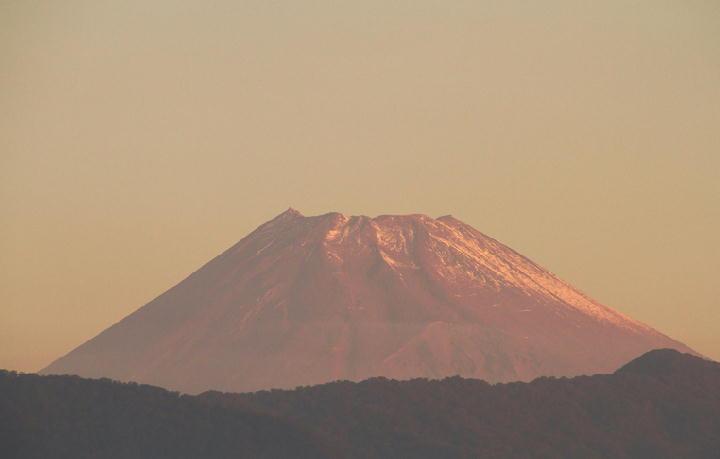 10月15日 6-07 今朝の富士山
