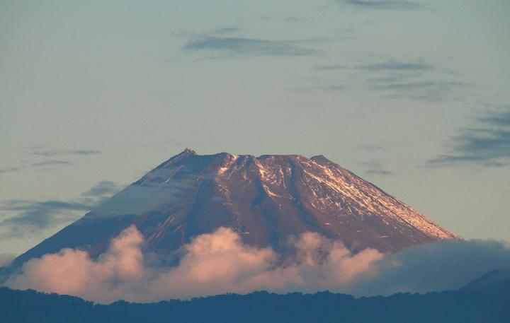 10月16日 6-12 今朝の富士山