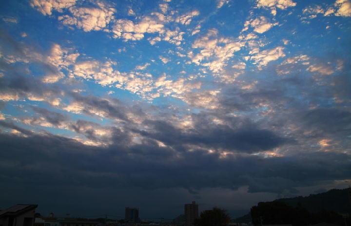10月16日 6-07 東の空