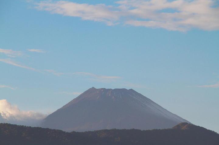 10月17日 16-40 今日の富士山-1
