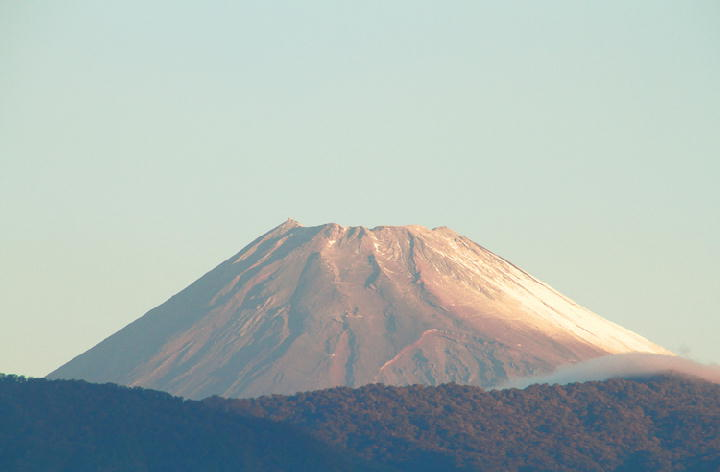 10月18日 6-14 今朝の富士山