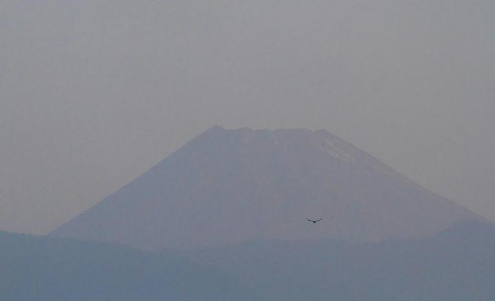 10月22日 6-14 今朝の富士山