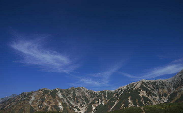 立山連峰-533