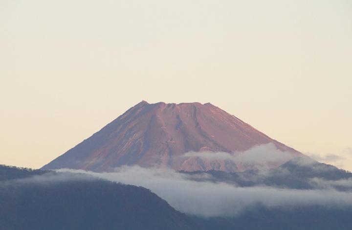 11月5日 6-12 今朝の富士山