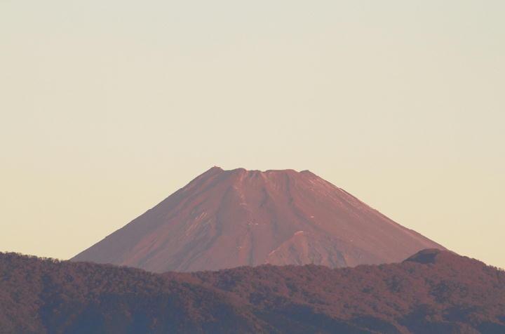 11月6日 6-14 今朝の富士山-1
