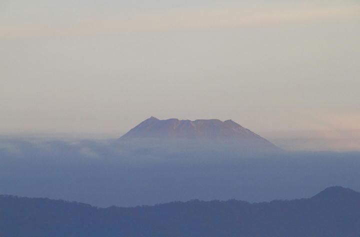 11月7日 6-17 今朝の富士山
