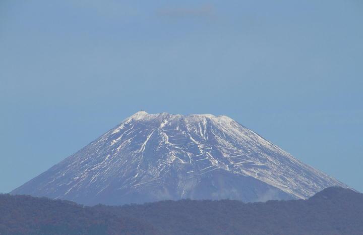 11月13日 9-27 今朝の富士山