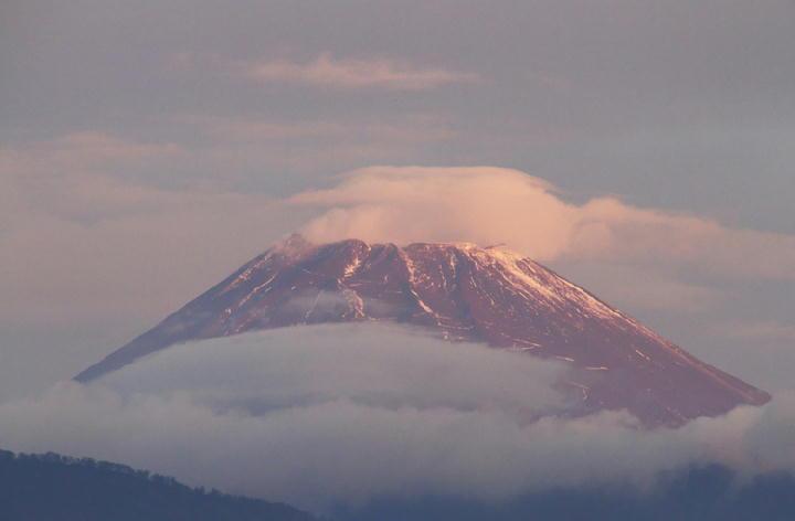 11月17日 6-23 今朝の富士山