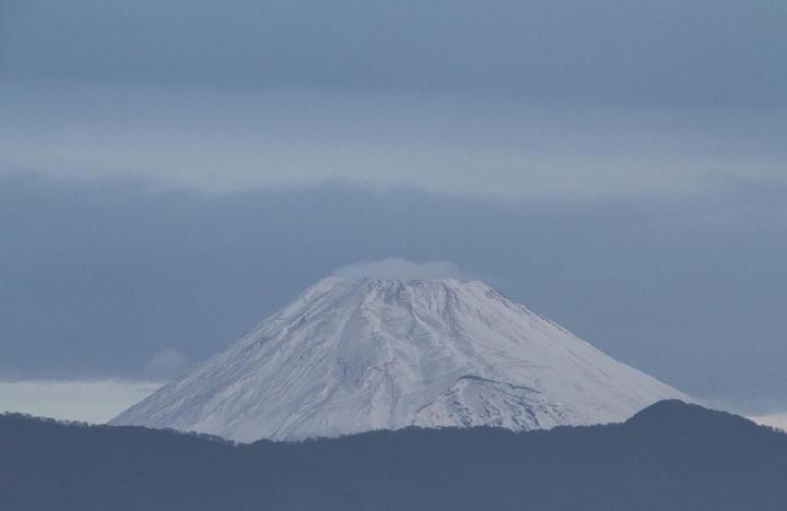 11月24日 6-41 今朝の富士山