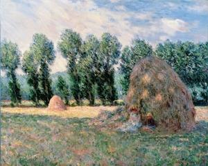ohara monet haystacks