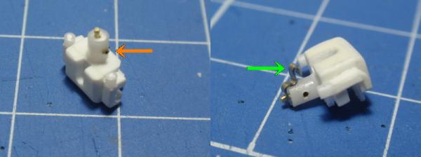 キャリパーパイプ接続