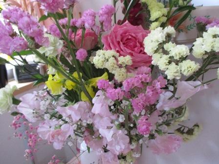 2016年3月 教室お花