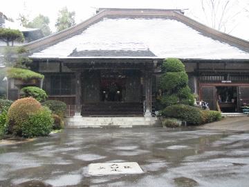 2016年春・お寺・本堂3