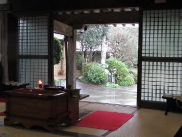 2016年春・お寺・本堂2
