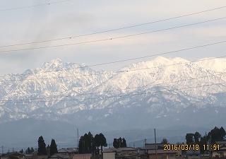 山が近く見える