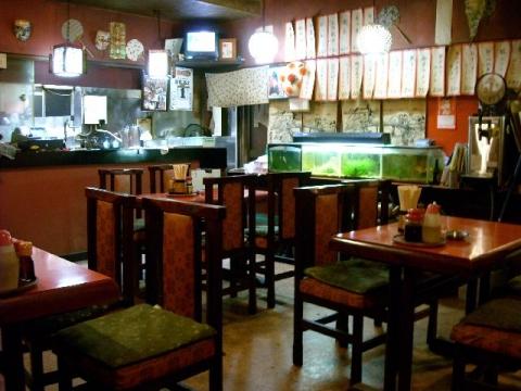 王龍飯店・H26・12 店内