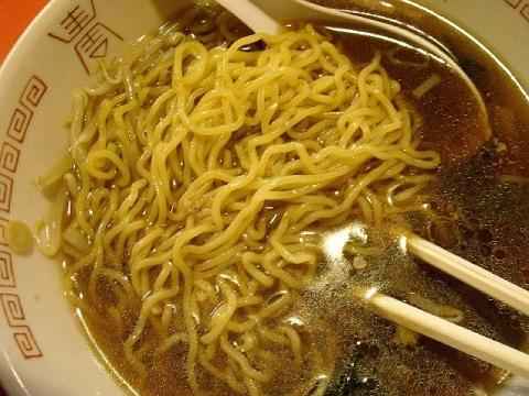 王龍飯店・H26・12 しょうゆラーメン 麺