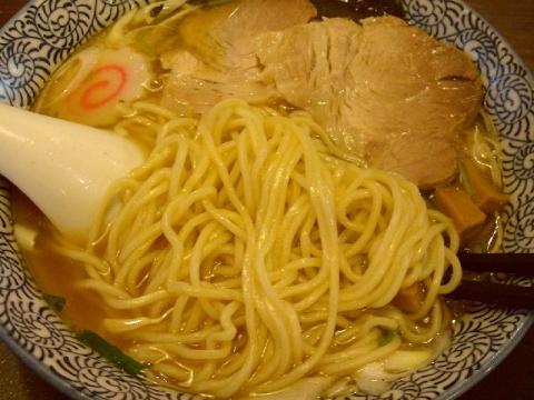 石黒・H26・12 あっさりそば 味玉 麺