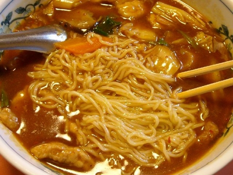 東華楼・H26・12 四川麺 麺
