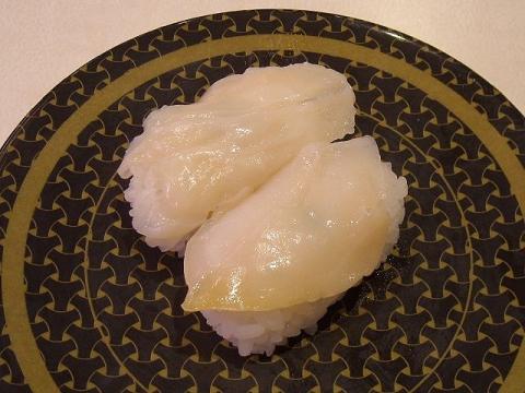 はま寿司 三条店・H27・10 つぶ貝