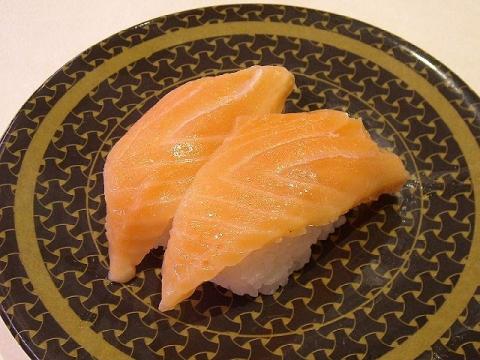 はま寿司 三条店・H27・10 サーモン