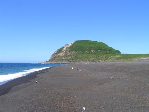 米軍上陸の海岸