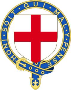 ガーター騎士団の紋章