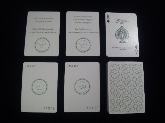 At the Table Playing Cards (5)