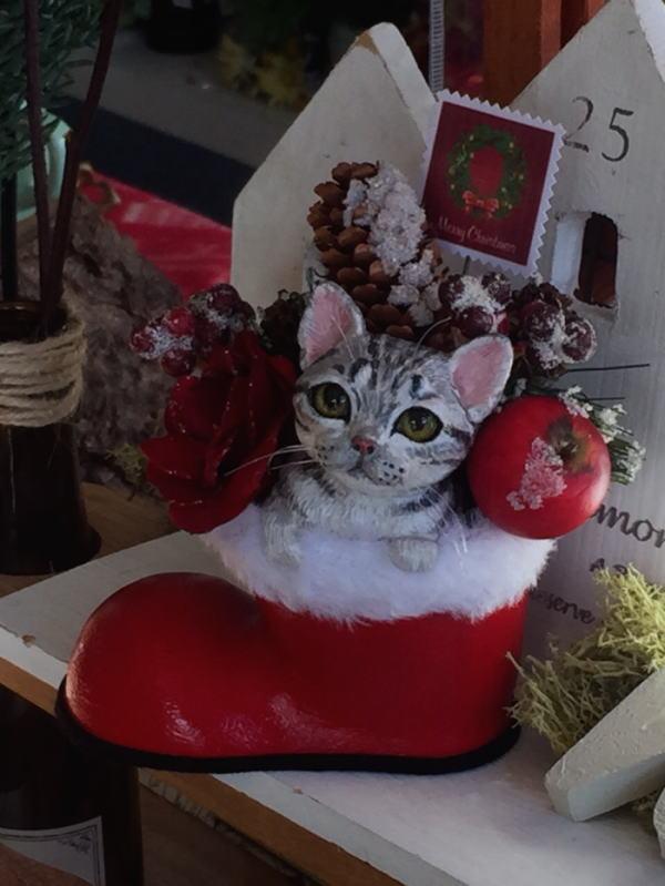 2015クリスマス猫2