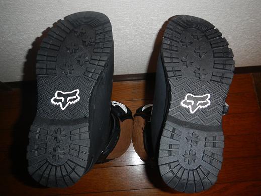 FOX COMP5ブーツ BLACK Offroad