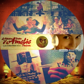 AMELIE DVD LABEL
