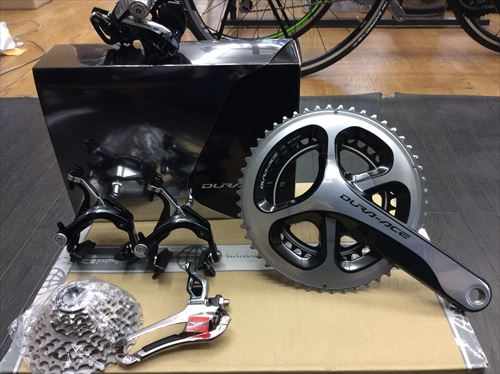 shimano Duraace8点セット